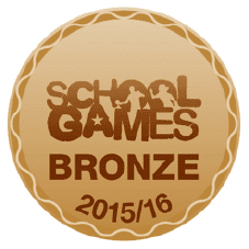 School Games Bronze 2015 2016