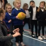 Reception Class attend Infant Agility Event